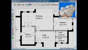 Grundrisse Erstellen Zeichnen Mit VA HausDesigner
