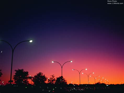 wallpapers cities scenes  night time