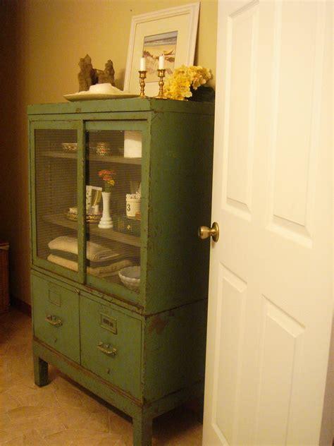 neck   woods vintage bathroom cabinet