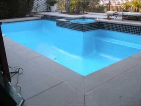 Do It Yourself Pool Restoration and Resurfacing   YouTube