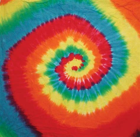 rainbow spiral tie dye bandanna sunshine daydream hippie