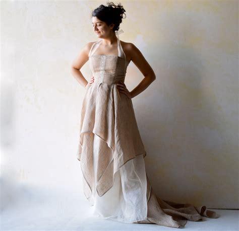 Wedding Dress Woodland Wedding Dress Wedding Gown Fairy