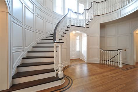 Fancy Staircase Treatments : Mitre Contracting, Inc