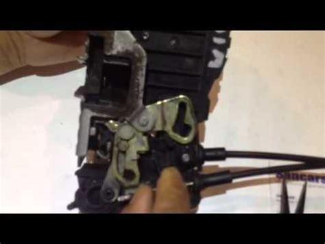 mercedes ml  door lock actuator repair youtube