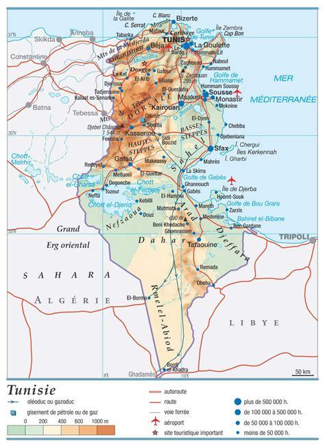 Carte Du Monde Tunisie by Tunisie Carte Du Monde 187 Vacances Arts Guides Voyages