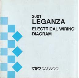 2001 Daewoo Leganza Fuse Box Diagram by Daewoo 2001 Daewoo Leganza Electrical Wiring Diagrams