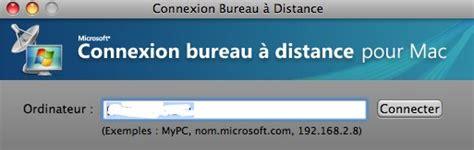 connexion bureau a distance utiliser windows sur mac sans l 39 installer