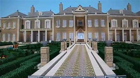 minecraft biggest mansion palace  massive youtube