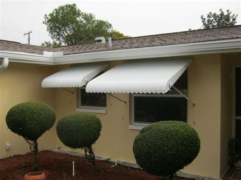 Aluminum Clamshell Awnings Replaced In Clearwater, Fl