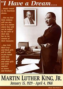 Mlk Poster New Martin Luther King Jr Poster Quot I Have A Dream Quot Now
