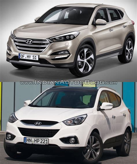 2016 Hyundai Tucson Vs Hyundai Ix35  Old Vs New