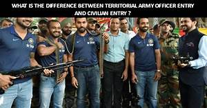 What is the difference between Territorial Army Officer ...