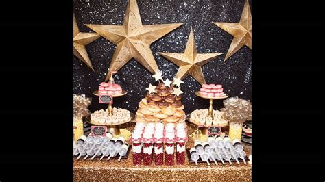 awesome hollywood theme party decorations ideas youtube