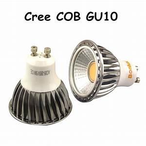Gu10 Led Lamp : led gu10 bulb light 5w 450lm cree cob gu10 base spot light ~ Watch28wear.com Haus und Dekorationen