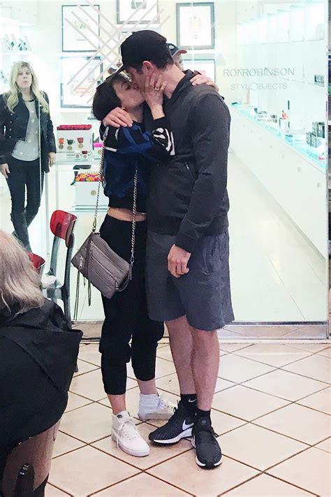 danielle campbell and colin woodell packs on some pda ...