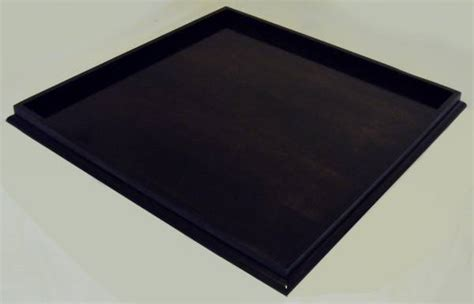 extra large ottoman tray extra large ebony stained ottoman tray woodworking