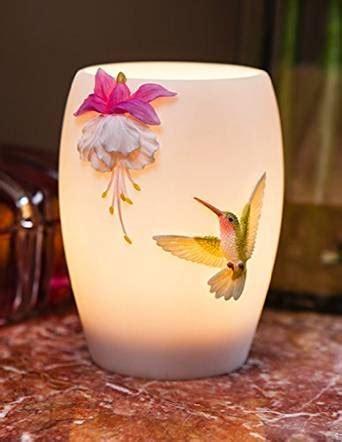 Ibis & Orchild Fuchsia & Hummingbird Night Lamp   Night