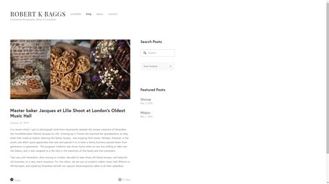 top free photography website templates top five templates for photography websites fstoppers