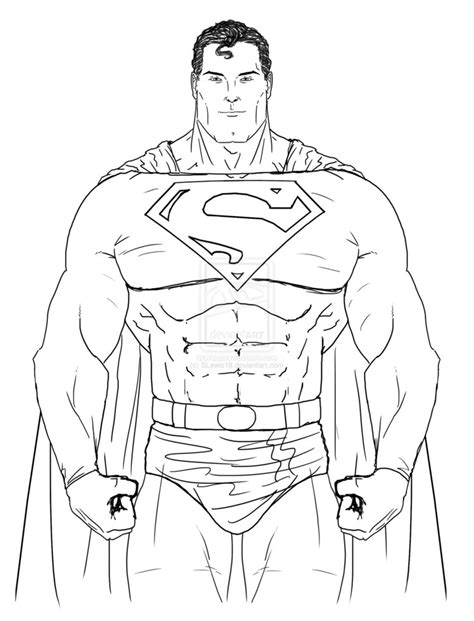 superman digital sketch  slewis  deviantart