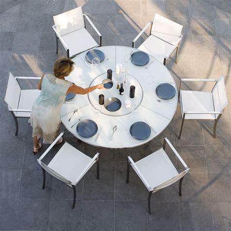 royal botania ozone white glass dining table home