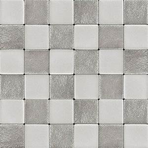 Decorgenius white grey leather wall tile living room decor