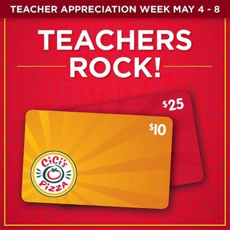 Free CiCi's Pizza Buffet on May 5, 2015 (Teachers ...