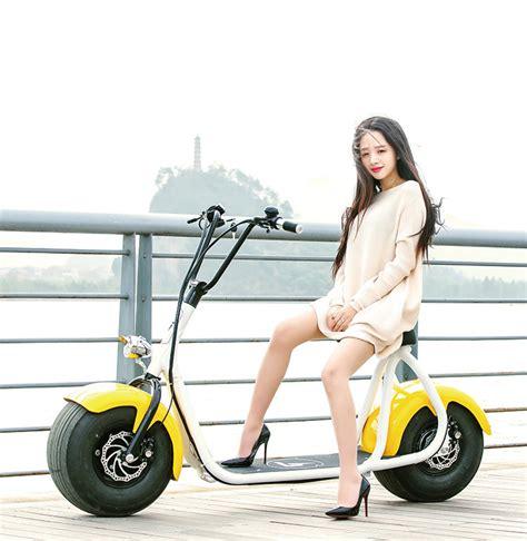 Coco E-Roller e-bike 1000 w Big City Jumper mit EABS Hyd ...