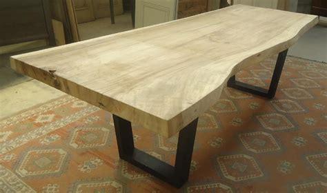 Plateau Bois Pour Table Fabrication Table En Vieux Bois Plateau De Table En Bois De Suar Avec Pieds M 233 Tal Table En