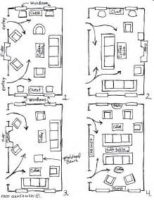 Narrow Rectangular Living Room Layout by Arranging Furniture Twelve Different Ways In The Same Room