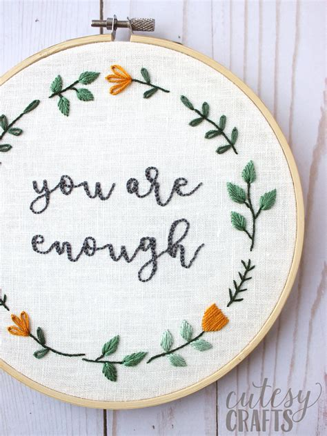 hand embroidery pattern  polka