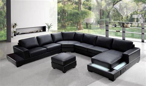 Contemporary Italian Leather Sectional Sofas by Contemporary Top Grain Leather Sectional Jersey New Jersey