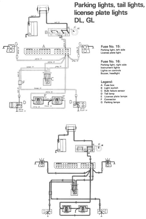 1988 Volvo 240 Wiring Diagram by 1982 240 Dl Wagon Where Does The Rear Tailight Wiring Go