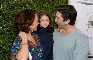 Friends star David Schwimmer out and about with the family ...