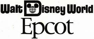 Disney World Epcot Logo 25280 | NOTEFOLIO