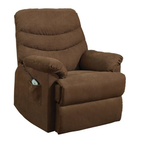 homelegance elevated 9769br 1lt power lift and recline