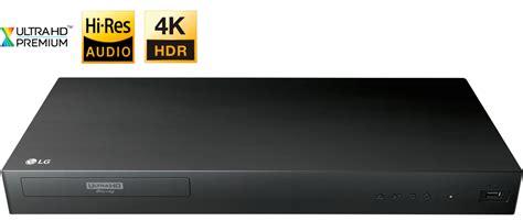 Lg Up875 4k Ultra Hd 3d Bluray Player Black Up875