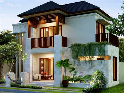 aneka gambar desain rumah minimalis 2 lantai berbagai type