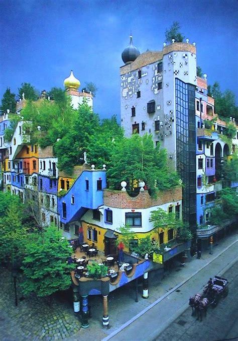 Hundertwasserhaus, Vienna  Buildings I Love Pinterest