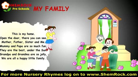 nursery rhymes  family songs  lyrics youtube