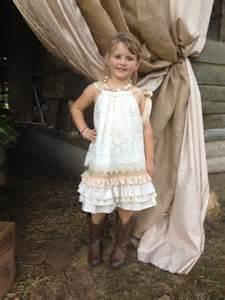 Country Wedding Flower Girl Dresses