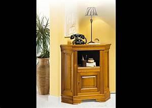Meuble Pour Téléphone : acheter votre meuble t l phone d 39 angle 1 tiroir 1 porte chez simeuble ~ Teatrodelosmanantiales.com Idées de Décoration