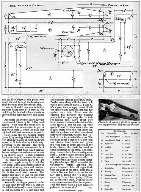 homemade scroll  plans scroll  woodworking