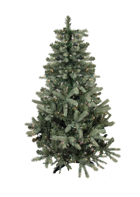 6 5 pre lit blue spruce full artificial christmas tree