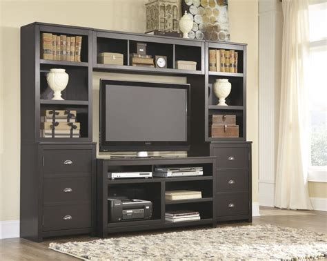ashley furniture  owingsville black tv stands