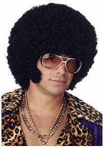 Disco Afro with Mutton Chops Wig - Pimp Costume Wigs for ...