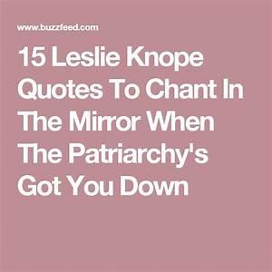 Best 25+ Leslie... Leslie Ann Quotes