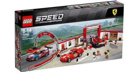 Lego 75889 ferrari ultimate garage. Lego Speed Champions Ferrari Ultimate Garage 75889 • Se priser hos os