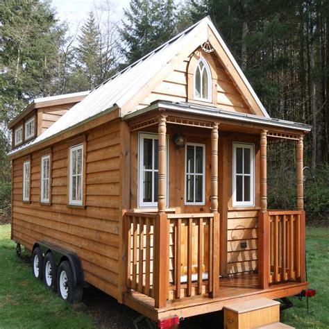 tiny house listing charming tumbleweed tiny house on wheels with 2 sleeping