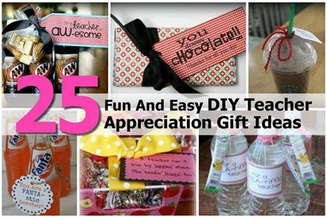 fun  easy diy teacher appreciation gift ideas