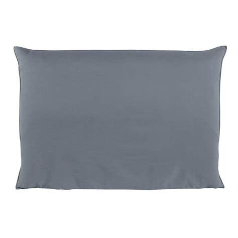housse de tete de lit  bleue soft maisons du monde
